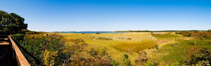 South Wellfleet Cape Cod vacation rental - Panoramic view of Great Island from deck