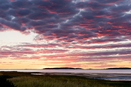 South Wellfleet Cape Cod vacation rental - Another spectacular sunset!