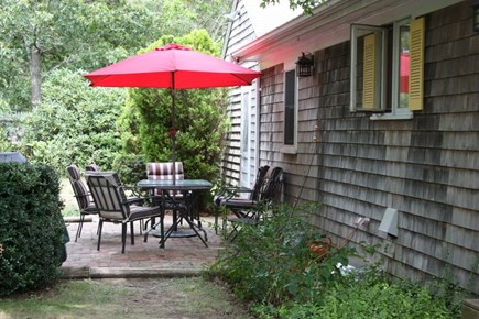 Brewster Cape Cod vacation rental - Back patio with gas grill