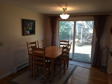 Brewster Cape Cod vacation rental - Dining area with seating for 6.
