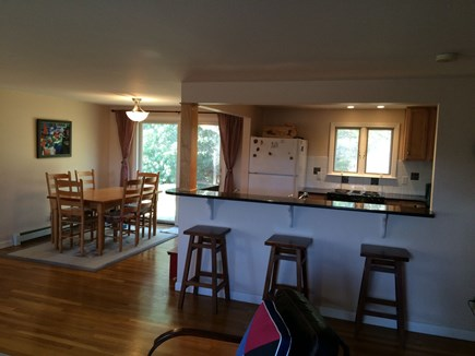 Brewster Cape Cod vacation rental - Dining area and open kitchen