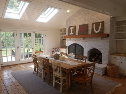 Barnstable, Osterville Cape Cod vacation rental - Dining room off kitchen