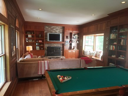 Barnstable, Osterville Cape Cod vacation rental - Den with pool table