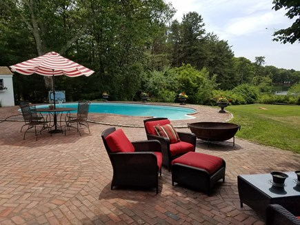 Barnstable, Osterville Cape Cod vacation rental - Pool side