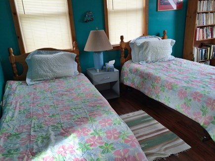 Eastham Cape Cod vacation rental - Twin bedroom with skylight