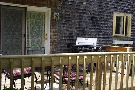 Mashpee Cape Cod vacation rental - Deck off kitchen