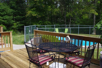Mashpee Cape Cod vacation rental - Deck off the family room