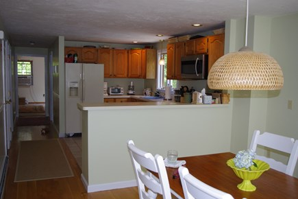 Mashpee Cape Cod vacation rental - Kitchen.  This wall is now down