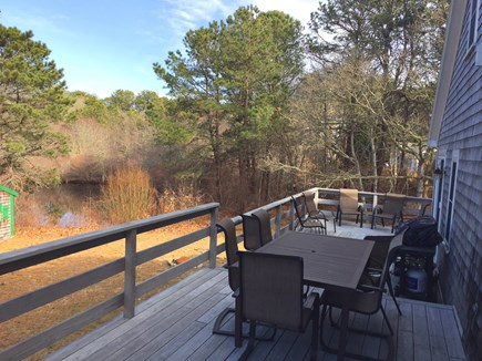 Harwich Cape Cod vacation rental - Deck with Nice Views of Holding Pond and Nature Preserve Area
