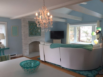 Harwich Cape Cod vacation rental - Another look at living area from dining area