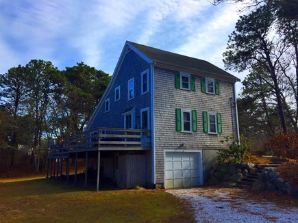 Harwich Cape Cod vacation rental - Back / Side view of home