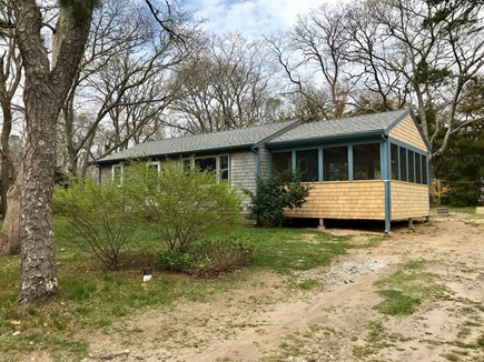Eastham Cape Cod vacation rental - View from front of property