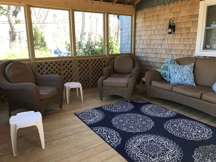 Eastham Cape Cod vacation rental - Screen patio