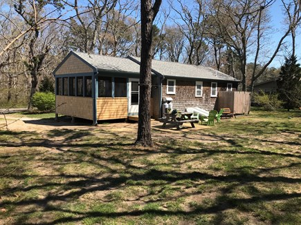 Eastham Cape Cod vacation rental - Backyard & back of property