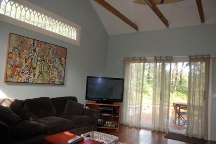 Wellfleet Cape Cod vacation rental - Detached family room