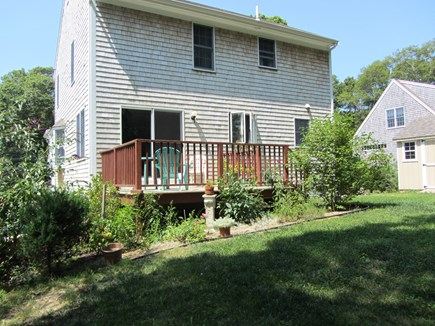 Centerville Cape Cod vacation rental - Sunny Back Porch