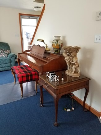 Centerville Cape Cod vacation rental - Living room piano for musicians