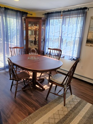Centerville Cape Cod vacation rental - Dining area with slider to back porch