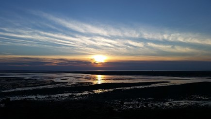 South Yarmouth Cape Cod vacation rental - Sunset at Chapin Beach in Dennis