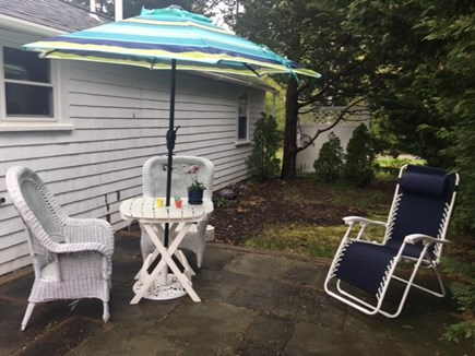 Brewster Cape Cod vacation rental - Blue-stone private patio