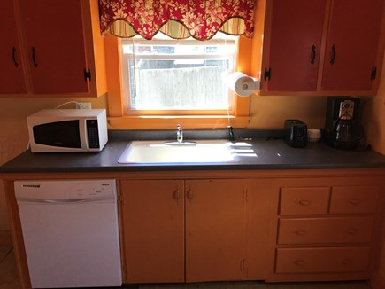 Wareham MA vacation rental - fully equipped kitchen with stove, frig, dishwasher, coffee maker