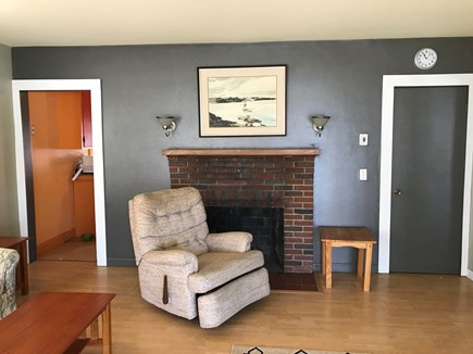 Wareham MA vacation rental - Living room with comfortable recliner , sofa, and matching chair