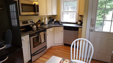 Dennisport Cape Cod vacation rental - Fully equipped kitchen with dishwasher and granite countertop
