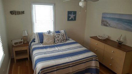 Dennisport Cape Cod vacation rental - Large Master with queen.Leather reading chair and closet not seen