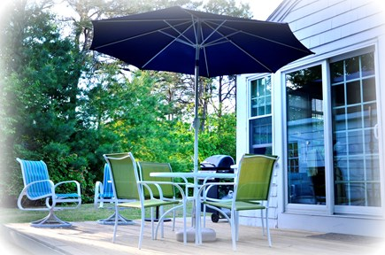 East Falmouth Cape Cod vacation rental - Sun Deck with river views and breezes