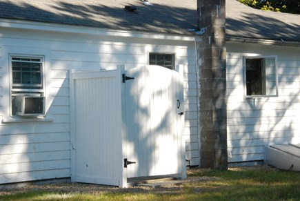 East Falmouth Cape Cod vacation rental - Outdoor Enclosed Shower