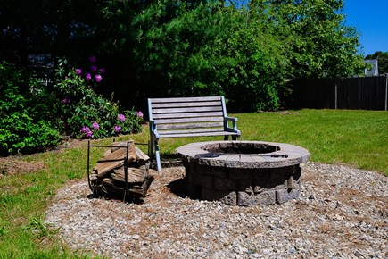 East Falmouth Cape Cod vacation rental - Fire Pit with Firewood Included