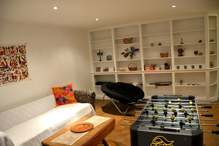 Brewster Cape Cod vacation rental - Game room, lower level