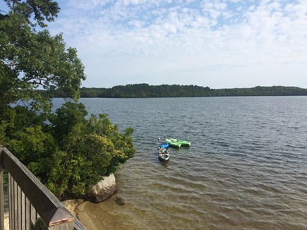 Brewster Cape Cod vacation rental - Lake with deeded beach rights is steps away