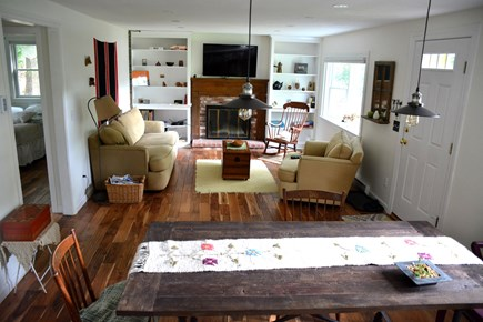 Brewster Cape Cod vacation rental - Living room, upper level