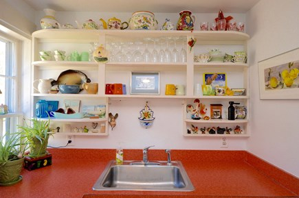 Wellfleet Cape Cod vacation rental - Sink area