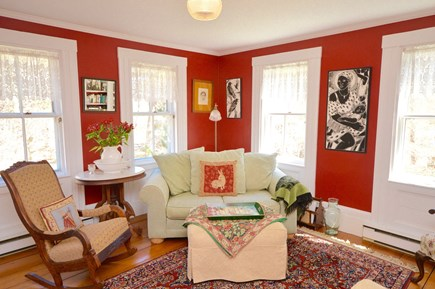 Wellfleet Cape Cod vacation rental - Main living room