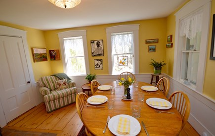 Wellfleet Cape Cod vacation rental - Main Dining room