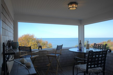 Brewster Cape Cod vacation rental - Enjoy panoramic views of Cape Cod Bay and evening sunsets
