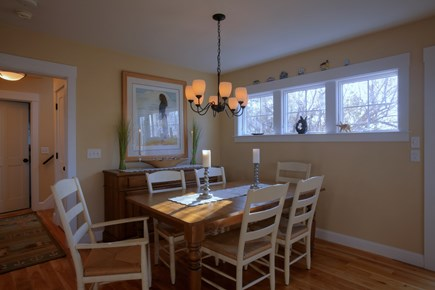 Brewster Cape Cod vacation rental - Dining Room, Seats 6-8