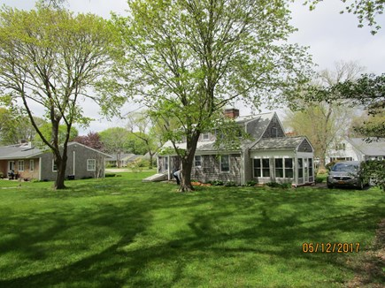 Falmouth Cape Cod vacation rental - GREAT yard to relax, kids play safe, toys; Gas grill