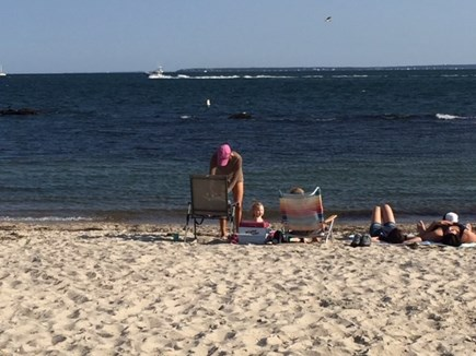 Falmouth Cape Cod vacation rental - Surf Drive Beach is great for kids, shallow;has food, bathrooms