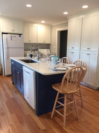 Falmouth Cape Cod vacation rental - Island seating for 5.Great for visiting while prepping.