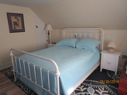 Falmouth Cape Cod vacation rental - #1 Bdrm up: queen bed, dresser, closet, Thermostats up and down.