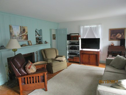 Falmouth Cape Cod vacation rental - Living room. Comfortable furniture. Thermostats up and down
