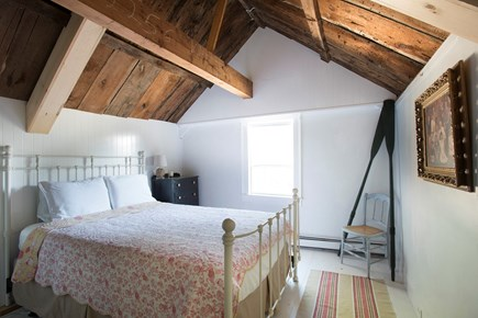 North Truro Cape Cod vacation rental - Vaulted ceiling 2nd floor bedroom with queen bed