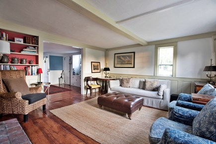 North Truro Cape Cod vacation rental - View from living room into entry/dining room