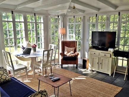 North Truro Cape Cod vacation rental - Wonderful screened in sunroom - you won't want to leave it!
