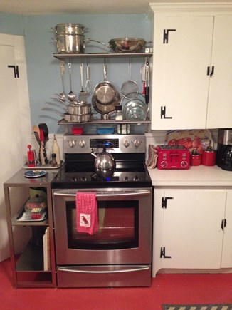 North Truro Cape Cod vacation rental - Fully equipped kitchen including food processor & stand mixer