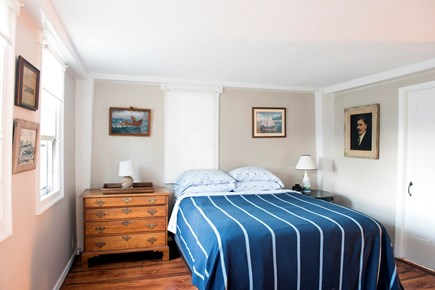 North Truro Cape Cod vacation rental - 1st floor bedroom with queen bed