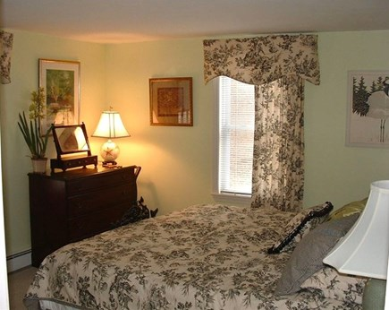 Barnstable Village Cape Cod vacation rental - First floor guest bedroom with king bed